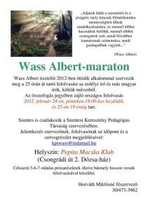 Wass-maraton, Szentes
